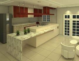 #9 for Diseñar un muebles de melamina y modelarlo de forma realista en 3D by bshbsh88