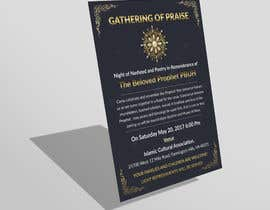 nº 36 pour Design A Flyer for an Event par MarkHenrry