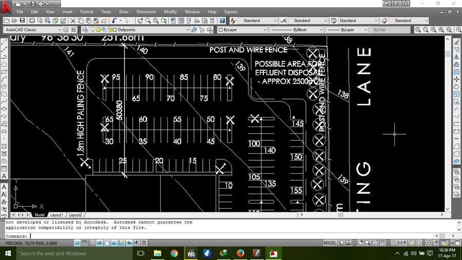 Proposition n°5 du concours Autocad - make some small adjustments