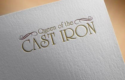 #7 for Design a Logo for Queen of the Cast Iron by vinayagraphics