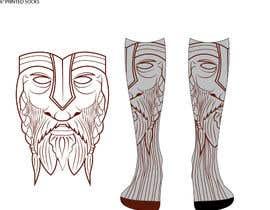 Nro 4 kilpailuun Need cool graphic design on socks. käyttäjältä tflbr