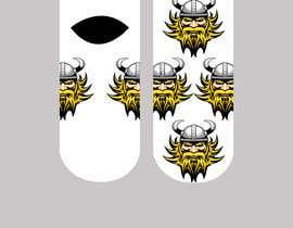 Nro 27 kilpailuun Need cool graphic design on socks. käyttäjältä NatachaHoskins