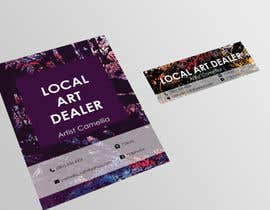 nº 5 pour Local Art Dealer Flyer par Ilma91