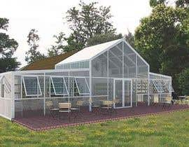 nº 27 pour 60q mts Greenhouse  idea design for restaurant in nice landscape make 2d and 3d . par ennovy