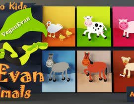 #24 for VeganEvan Facebook Page Cover Photo Contest by mansoribrahim