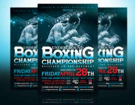 #46 for Design a Poster for a Boxing Event on April 28 by abhilashkp33
