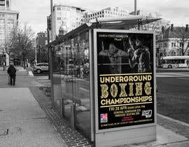 #54 for Design a Poster for a Boxing Event on April 28 by Pibbles