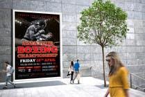 Proposition n° 18 du concours Graphic Design pour Design a Poster for a Boxing Event on April 28