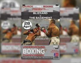 nº 44 pour Design a Poster for a Boxing Event on April 28 par zakirnissan