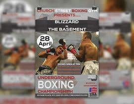 #44 para Design a Poster for a Boxing Event on April 28 de zakirnissan