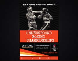 #47 for Design a Poster for a Boxing Event on April 28 by poojark
