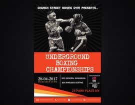 nº 47 pour Design a Poster for a Boxing Event on April 28 par poojark
