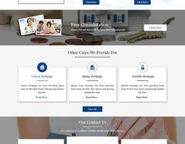 #21 for Design a Website Mockup - HOMEPAGE ONLY - Houston Mortgage by ravinderss2014