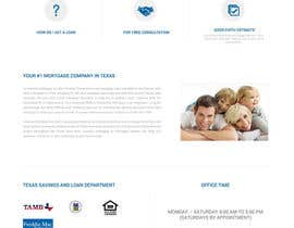#35 for Design a Website Mockup - HOMEPAGE ONLY - Houston Mortgage by tanveerk0956