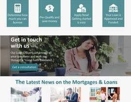 nº 22 pour Design a Website Mockup - HOMEPAGE ONLY - Houston Mortgage par dhawal467