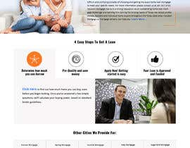 #34 for Design a Website Mockup - HOMEPAGE ONLY - Houston Mortgage by MadniInfoway01