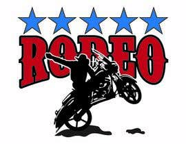 nº 28 pour Motorcycle Rodeo Logo par DjIloveDESIGN