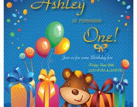 nº 28 pour First Birthday par abcgreenview