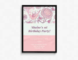 nº 18 pour First Birthday par poojasajanani
