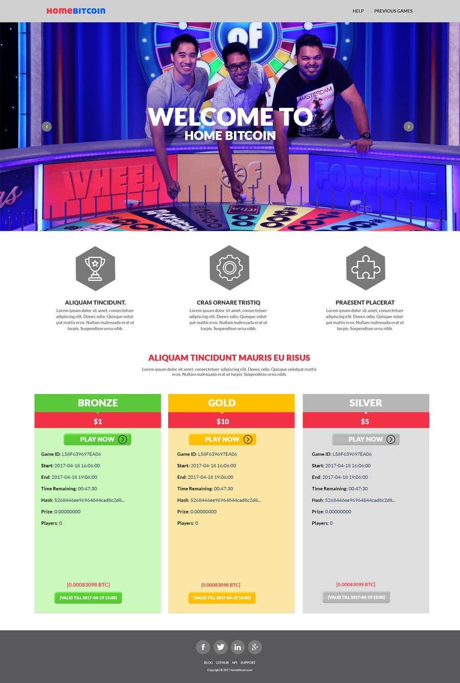 Proposition n°15 du concours logo + website design for lottery an easy task for a designer