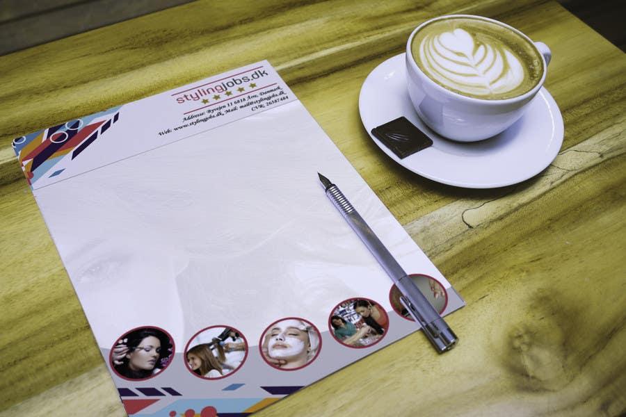 Proposition n°7 du concours A4 Letterhead Design