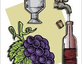nº 13 pour Hand-drawn illustration of wine-making process par reddmac