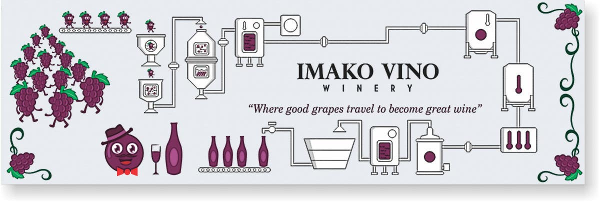 Entry 14 By Reyryu19 For Hand Drawn Illustration Of Wine Making