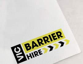 nº 142 pour Logo design for Vic Barrier Hire par Rajmonty