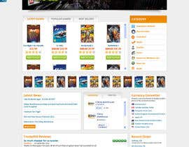 Nro 12 kilpailuun Website Design for CDKEY Warehouse for interspire shopping cart käyttäjältä tania06