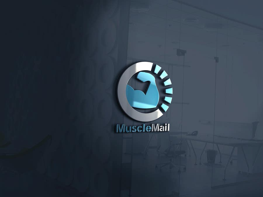 Proposition n°390 du concours Logo Design for MuscleMail - new UK fitness business