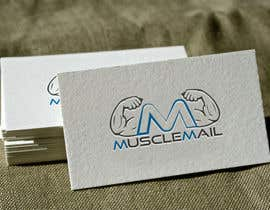 nº 31 pour Logo Design for MuscleMail - new UK fitness business par naharffk