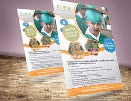 Nro 92 kilpailuun Education Preschool and Kindergarten Registration Flyer käyttäjältä zcubedesigns