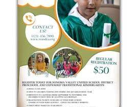 Nro 83 kilpailuun Education Preschool and Kindergarten Registration Flyer käyttäjältä KahelDesignLab