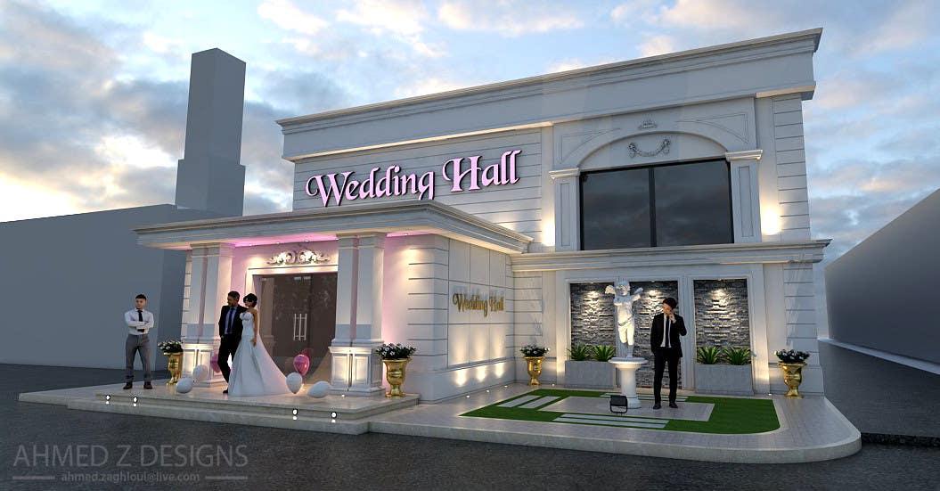 Proposition n°10 du concours design a building(wedding hall) facade