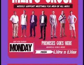 """Nro 8 kilpailuun Design a poster for """"Men Supporting Men"""" käyttäjältä luykenaus"""