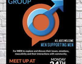 """#18 for Design a poster for """"Men Supporting Men"""" by DaveWL"""