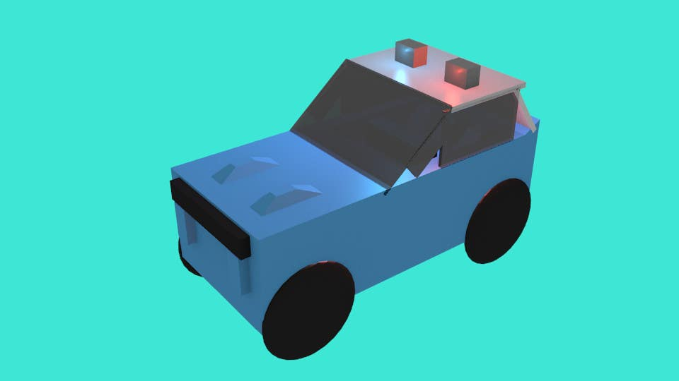 Entry #15 by HDBro for Model a Low Poly 3d Character