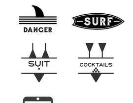 nº 4 pour Design Icon Set (Surf, Ocean, Coast Inspired) par sashalend