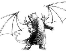 #21 for Illustrate Gargoyle/Bear by ecomoglio
