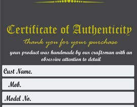 #13 for Design a warranty/thank you card for a new product by ajunaidpp