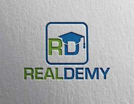 nº 30 pour Realdemy - Logo for mobile app - Real Estate Eucation Online par mindreader656871