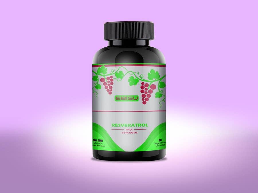 Proposition n°132 du concours Logo and Bottle Label Design for Vitamin Supplement