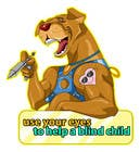 Contest Entry #23 for Cartoon illustration for charity: Use your eyes to help a blind child