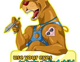 ramadhiansanjaya tarafından Cartoon illustration for charity: Use your eyes to help a blind child için no 23
