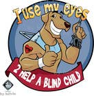 Entry # 14 for Cartoon illustration for charity: Use your eyes to help a blind child by
