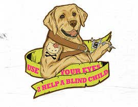 #17 para Cartoon illustration for charity: Use your eyes to help a blind child por supermagnetron