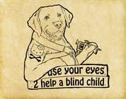 Contest Entry #11 for Cartoon illustration for charity: Use your eyes to help a blind child