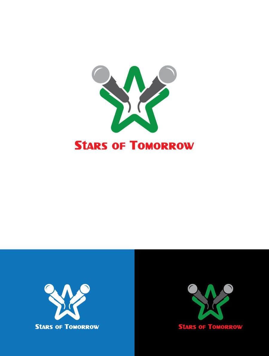 Kilpailutyö #                                        45                                      kilpailussa                                         Stars of Tomorrow - Logo