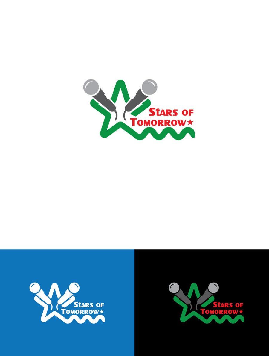 Kilpailutyö #                                        47                                      kilpailussa                                         Stars of Tomorrow - Logo