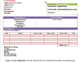 nº 7 pour I need a excel invoice template making par rohimakhatun